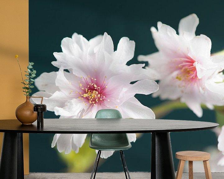Sfeerimpressie behang: Sakura beauty van Remke Spijkers