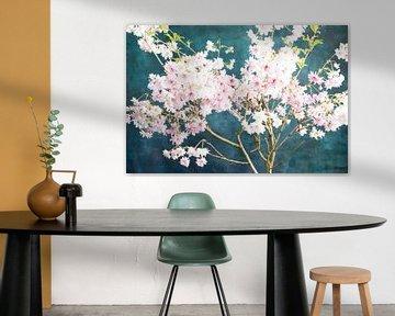 Sakura rosa-blau von Remke Spijkers