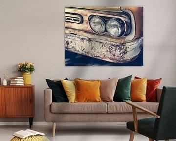 Koplamp van Chevrolet Pick-up  Vintage Oldtimer Auto van Art By Dominic