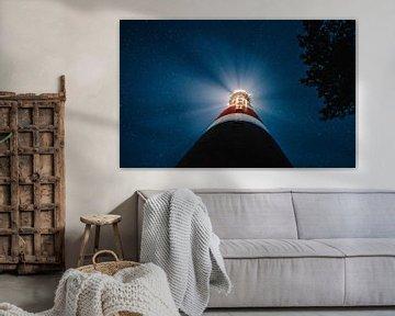 Der Leuchtturm von Ameland von Throughmyfeed