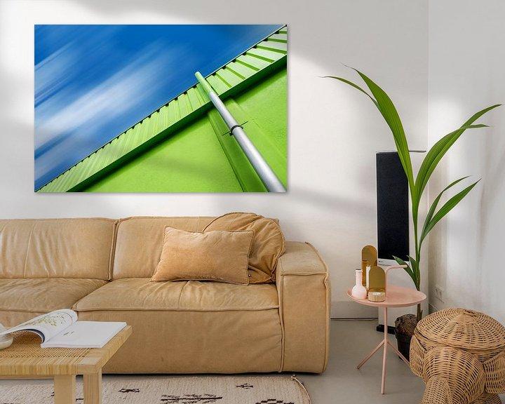 Beispiel: Grün und Blau von Oliver Eberwein