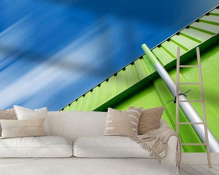 Beispiel fototapete: Grün und Blau von Oliver Eberwein