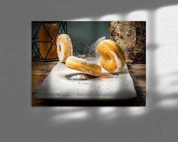 Stuiterende donuts van Boy van Mourik