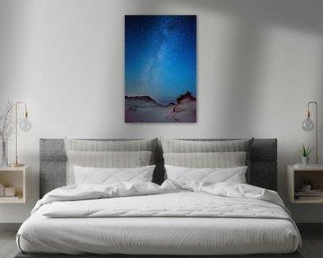 Galaxie dans la région des dunes vivantes...