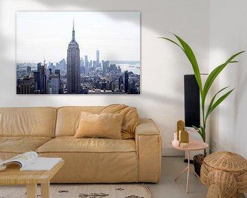 New Yorker Skyline von Photo Dutch