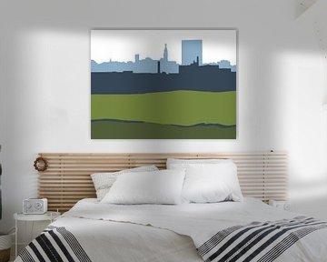 Nijmegen silhouet van JOJO