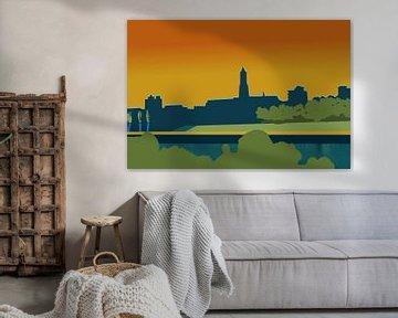 Arnhem-silhouet van -  JOJO  -