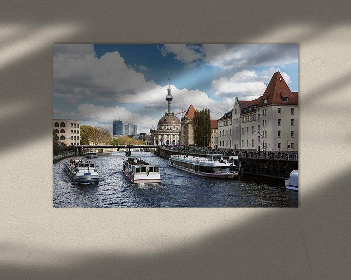 Impression: Bateaux d'excursion sur le Berlin Spree sur Frank Herrmann