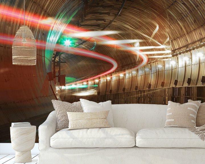 Impression: Train en tunnel sur Frank Herrmann