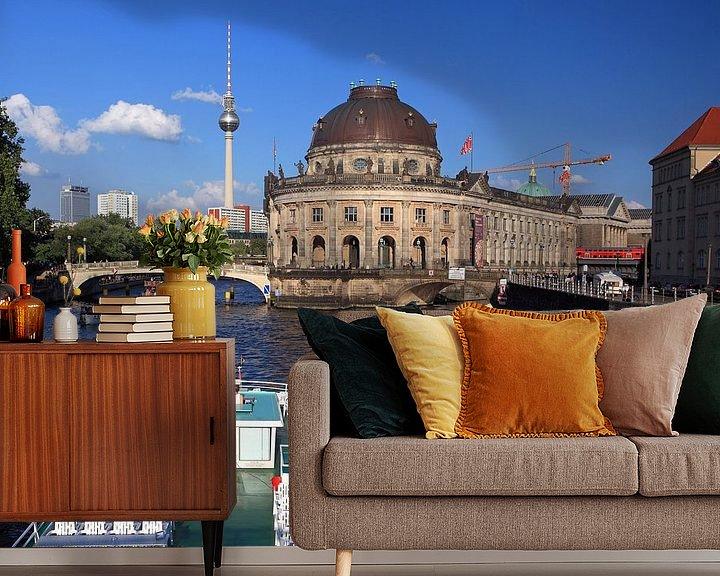 Impression: Bateau à bec sur la Berlin Spree à l'île des musées sur Frank Herrmann