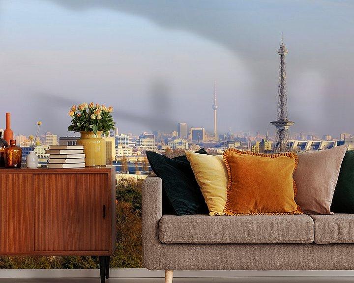 Impression: Le ciel de Berlin avec sa tour de radio et de télévision sur Frank Herrmann