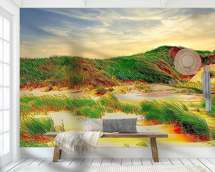 Beispiel fototapete: Dünen Niederlande von Digital Art Nederland