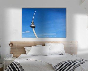 Fernsehturm Berlin - nach dem Sturm von Frank Herrmann
