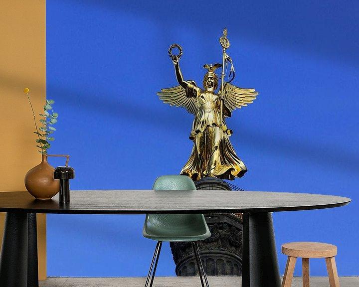 Impression: Le Goldelse sur la Siegessäule de Berlin sur Frank Herrmann