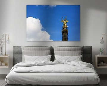 Die Goldelse auf der Berliner Siegessäule von Frank Herrmann
