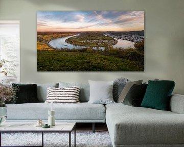 Bocht van de Rijn bij Boppard van Jens Sessler
