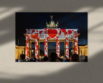 Das Brandenburger Tor Berlin in besonderem Licht