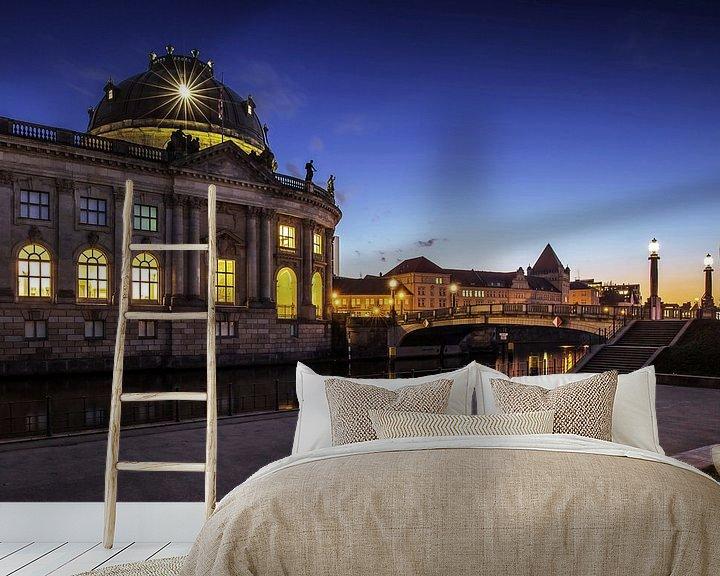 Impression: Bode-Museum Berlin à l'heure bleue sur Frank Herrmann