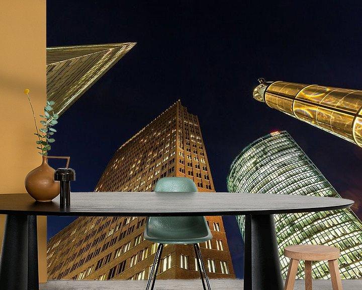 Impression: Potsdamer Platz Berlin Skyline sur Frank Herrmann