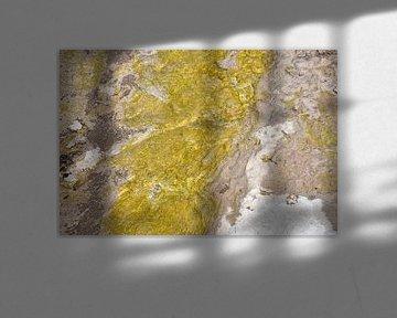Erosie Yellowstone Park van Peter Out