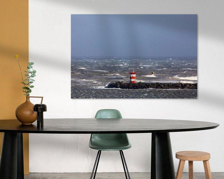 Sfeerimpressie: Noorderpier Scheveningen van Sander van der Borch