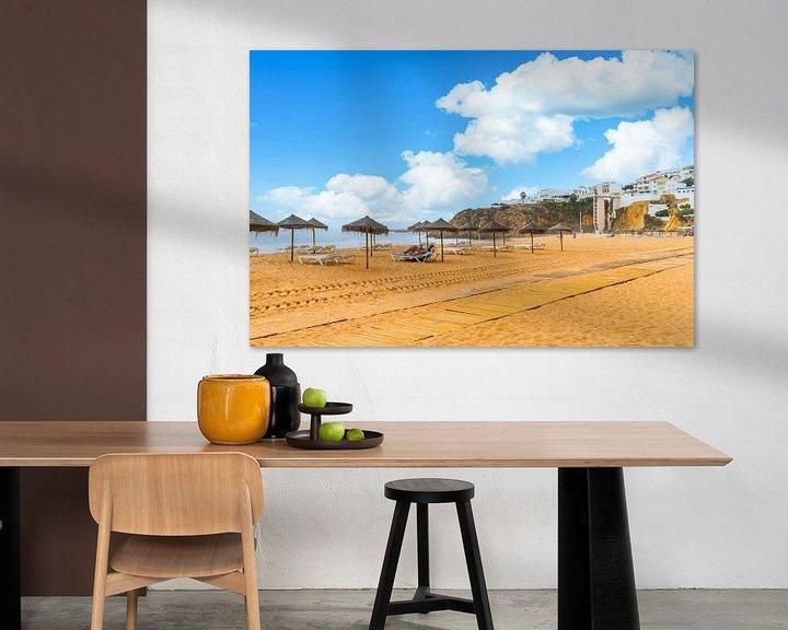 Beispiel: Der Strand von Albufeira an der Algarve in Portugal von Ivo de Rooij