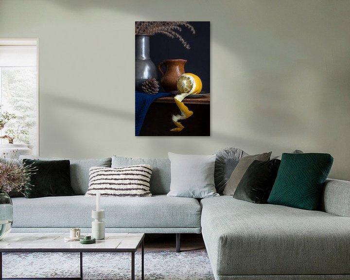 Beispiel: Stilleben mit Zitronenschalen l Lebensmittel fotografie von Lizzy Komen