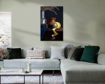 Stilleven met citroen schil l Food Fotografie van Lizzy Komen