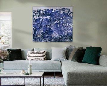 Blauer Mitternachts-Urwald von Andrea Haase