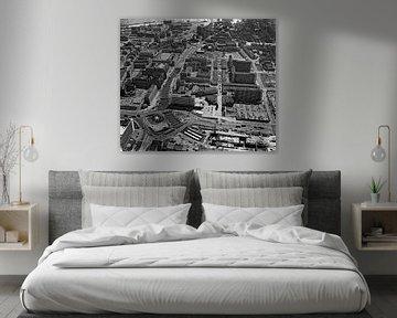 Rotterdam Hofplein Coolsingel 30-5-1963 Luftaufnahme von Roel Dijkstra