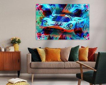 Eine Legende - Porsche 917k von Jean-Louis Glineur alias DeVerviers