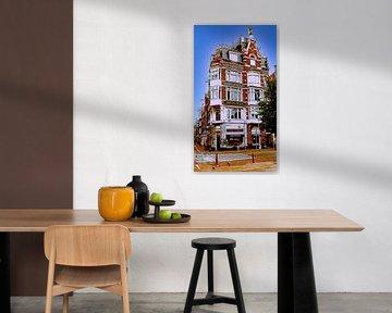 Charakteristisches Gebäude Amsterdam (1895) von Digital Art Nederland