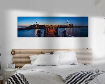 Panorama Vlissingen van Arnoud van de Weerd