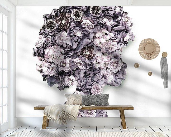 Sfeerimpressie behang: Blooom van Jacky Gerritsen