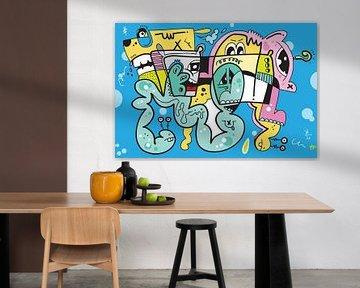 Whatta : Graffiti Comic Pop Art van Koen Haarbosch