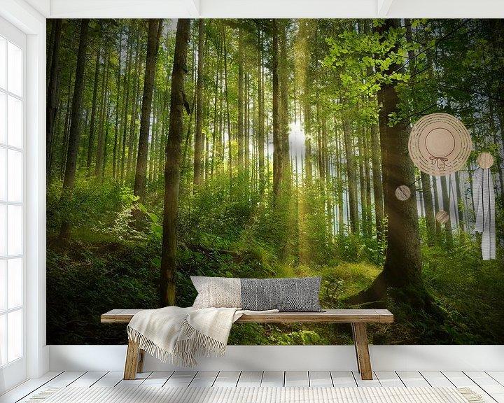 Beispiel fototapete: Frühling in der Natur von Andreas Kilian