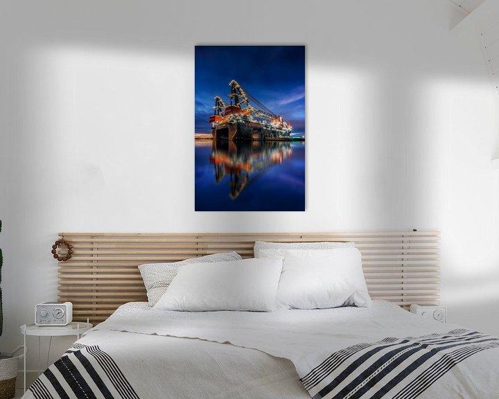 Sfeerimpressie: Sleipnir - grootste kraanschip ter wereld van Keesnan Dogger Fotografie