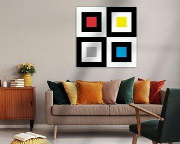 Abstrakte geometrische Formen von Maurice Dawson