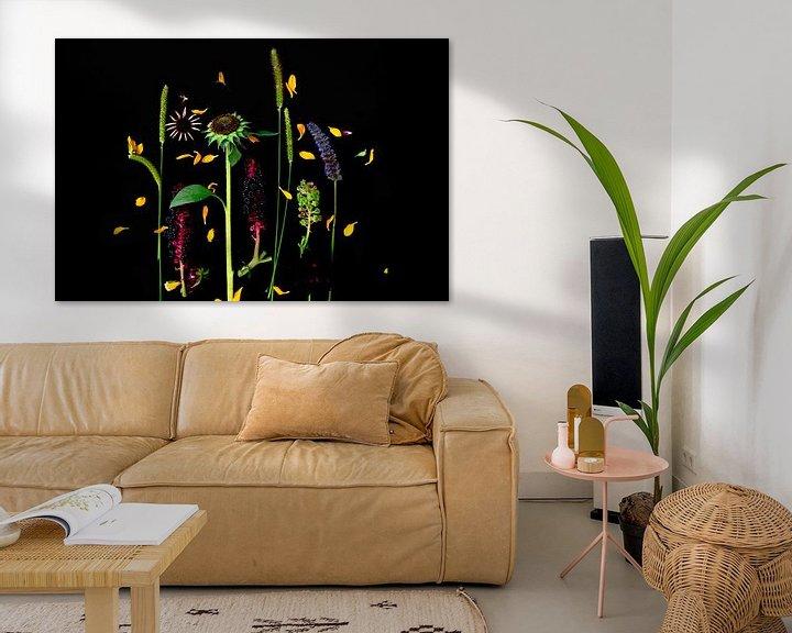Beispiel: Blumenporträt (Sonnenblume) von Ineke VJ
