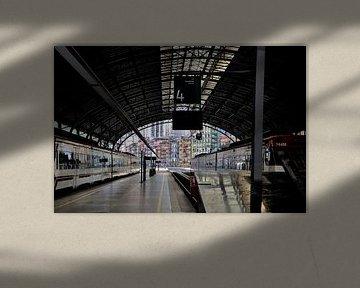 Bahnhof von Bilbao von Greetje Dijkstra