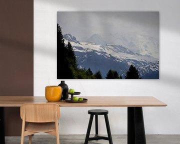 Montagnes enneigées sur Greetje Dijkstra