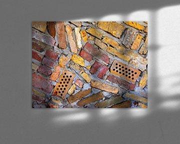 Steengoed (Vormen en kleuren Bakstenen) van Caroline Lichthart