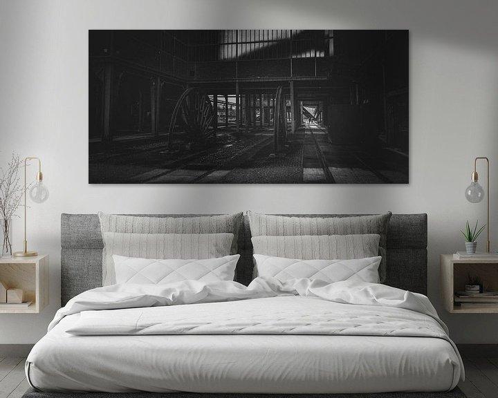 Beispiel: Zeche Zollverein in the dark zone von Jakob Baranowski - Off World Jack