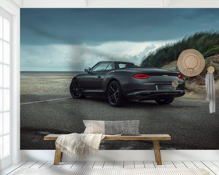 Sfeerimpressie behang: Bentley Continental GTC van Gijs Spierings
