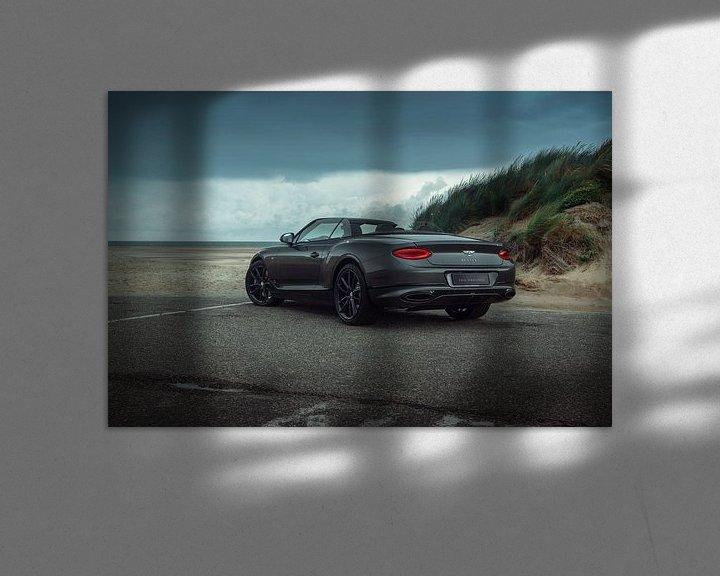 Sfeerimpressie: Bentley Continental GTC van Gijs Spierings