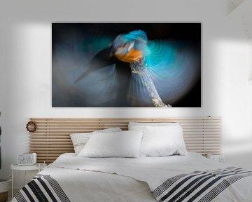 Blauer Blitz von Elles Rijsdijk