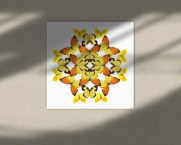 Schmetterling-Muster von Elles Rijsdijk