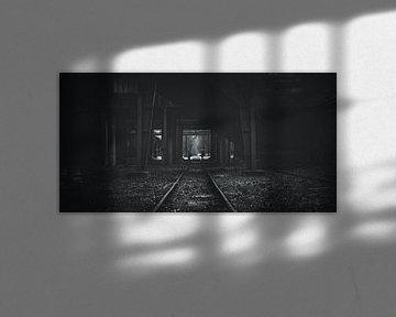 Zeche Zollverein bei den Schienen... von Off World Jack
