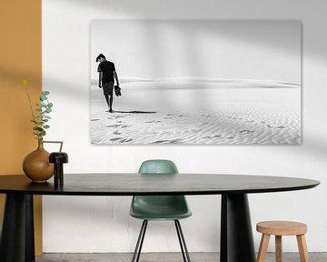 Dune de woestijn planeet - Op het strand van Leba op de maan van Jakob Baranowski - Off World Jack