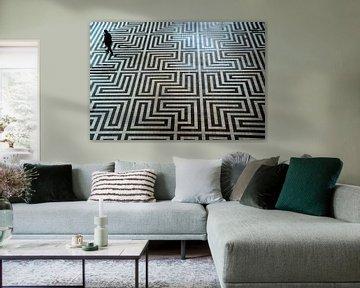 Mosaikboden von Anita van Gendt